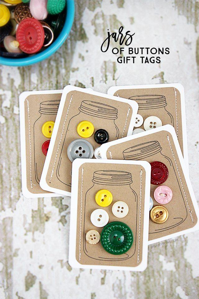 Handmade Christmas Tags For Gifts