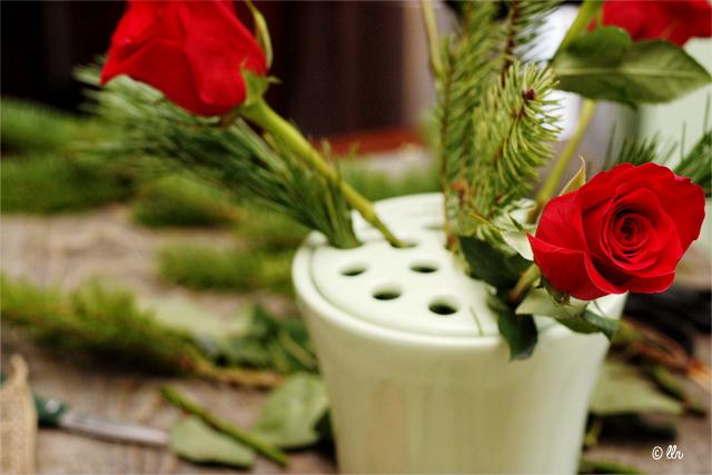 Floral Arranging Tips with livelaughrowe.com