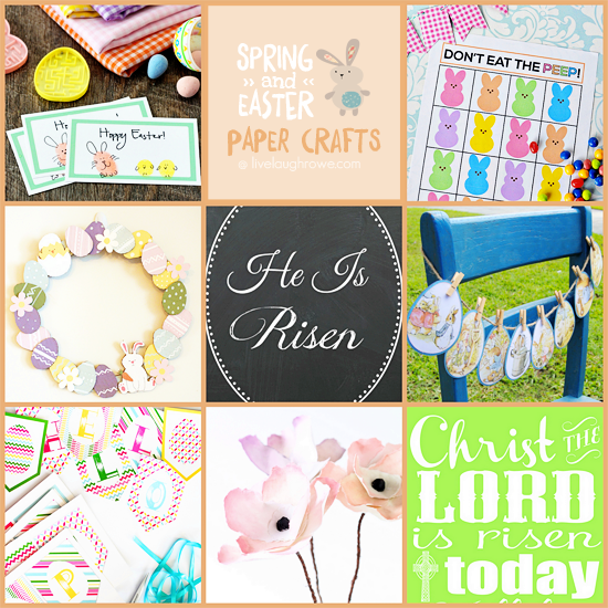 Spring and Easter Paper Crafts