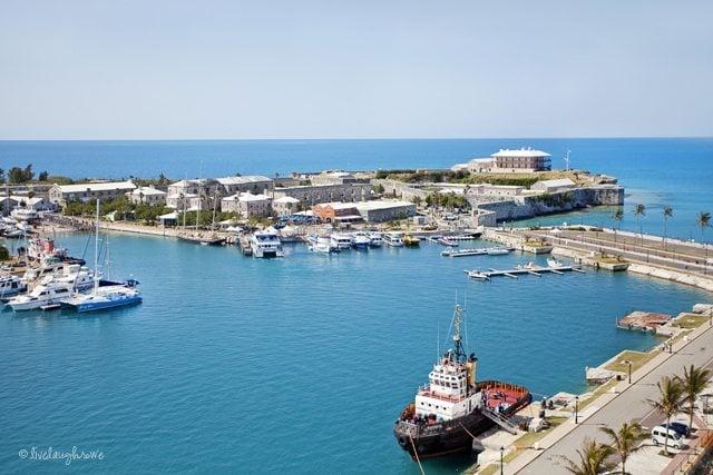 Kings Wharf aka Royal Navy Dockyard in Bermuda