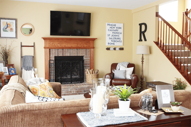 Warm and Cozy Living Room