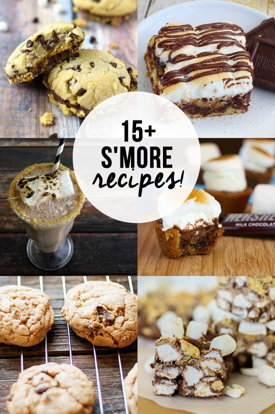 More S'mores Please! Sharing 15+ S'more recipes to tickle your cravings.