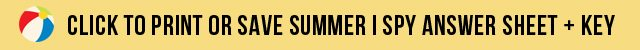 Summer Vacation I Spy Game
