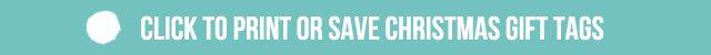 Click to Print or Save Printable Christmas Gift Tags - Live Laugh Rowe