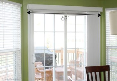 Sliding Glass Door Cornice