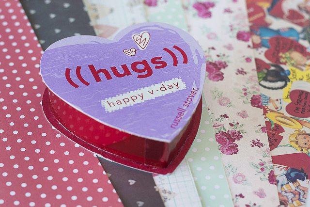 Sweet DIY Valentine Gift Box Supplies