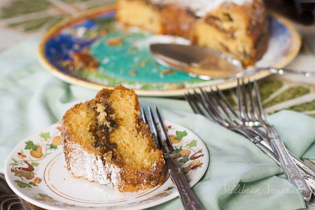 Fig Walnut Cake