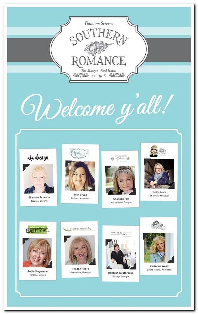 A Southern Romance with Phantom Screens. Bloggers - Live Laugh Rowe