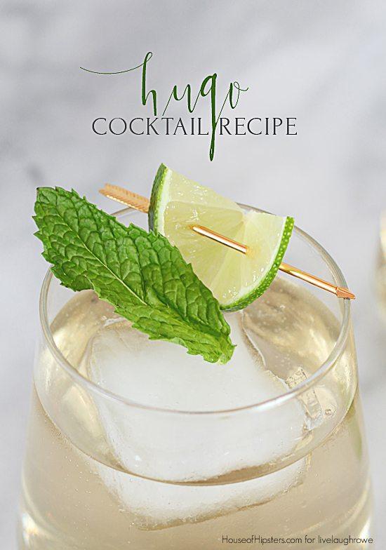 refreshing summer cocktails, hugo cocktail