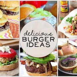 Yes, please! Delicious Burger Ideas - Live Laugh Rowe