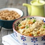 Delicious Skinny Chicken Fried Rice! Weight Watchers friendly too -- only 4 points per serving! livelaughrowe.com