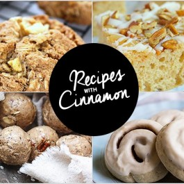Delicious Recipes with Cinnamon. Inspiration2 Party Features