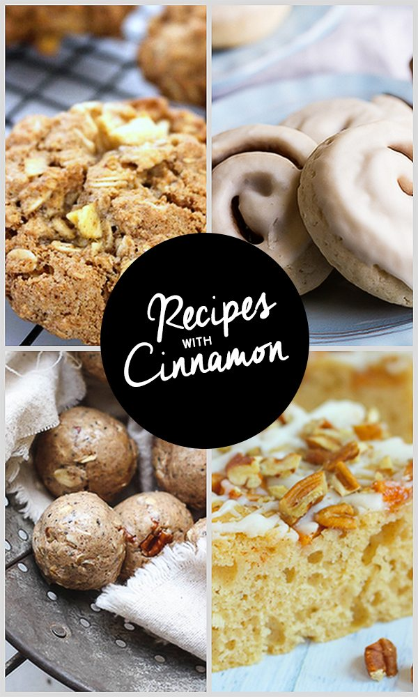 Recipes with Cinnamon.  Inspiration2 Party Features