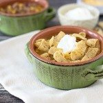 Seriously, the most delicious Taco Soup! It's like eating a taco in a bowl. Recipe at livelaughrowe.comSeriously, the most delicious Taco Soup! It's like eating a taco in a bowl. Recipe at livelaughrowe.com
