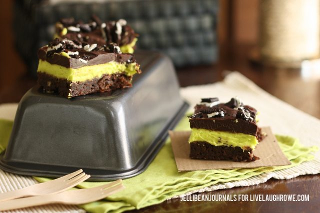 Thin Mint brownies are an irresistible pleasure that are surprisingly easy to make!