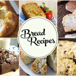 Amazing Bread Recipes that might just make your mouth water a bit! livelaughrowe.com