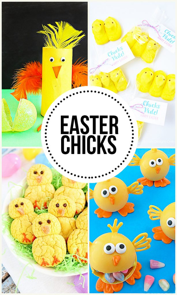 Easter Chicks. Easter Chick Fun