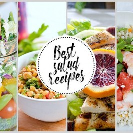 Some of the best salad recipes to add to your menu planning! livelaughrowe.com