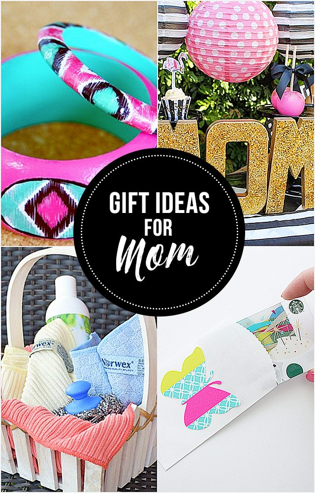 DIY and Handmade gift ideas for mom!