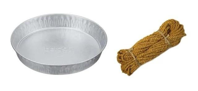 Supplies for DIY Galvanized Metal Tray. livelaughrowe.com