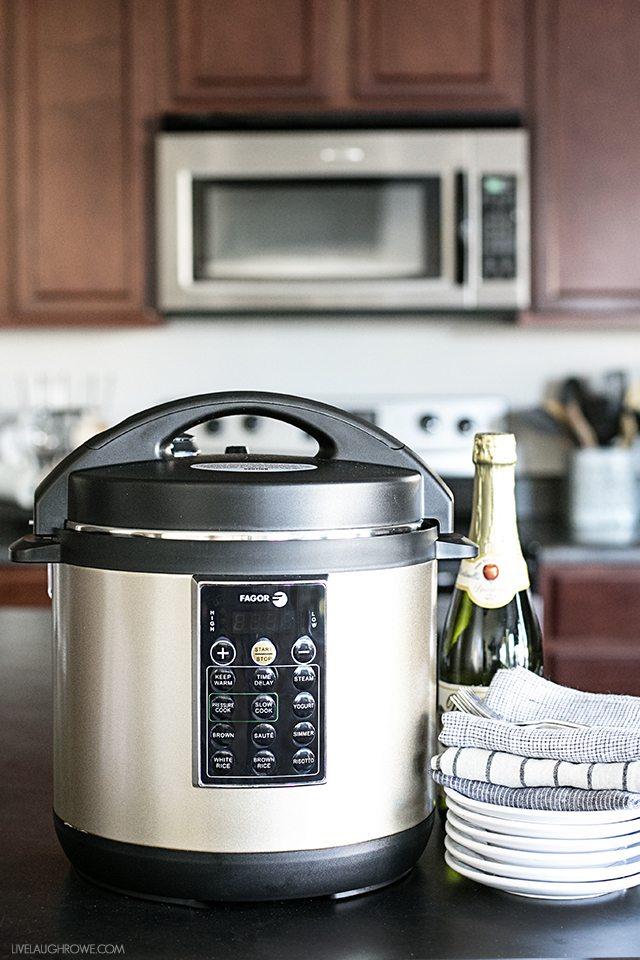 Fagor Electric Pressure Cooker, Champagne Color
