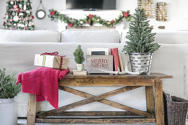 beautiful living rooms at christmas modern farmhouse room decor warm and cozy live laugh rowe a lovely it s the most wonderful time of