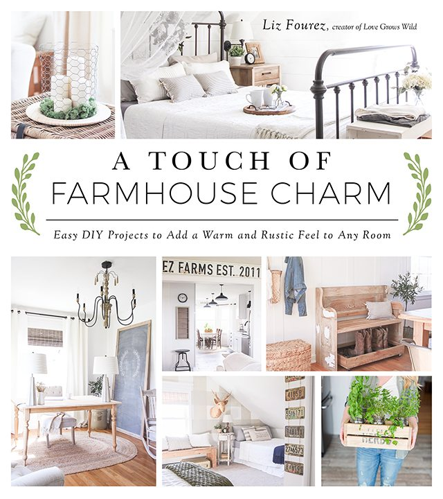 A Touch of Farmhouse Charm. Easy DIY Projects to Add a Warm and Rustic Fell to Any Room.