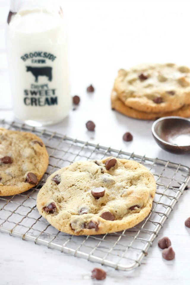 The BEST Classic Chocolate Chip Cookie Recipe. They're sure to become your new favorite!
