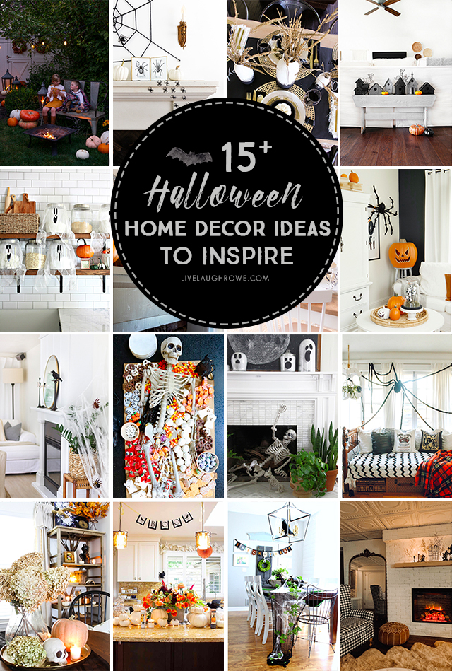 Beautiful assortment of Halloween Home Decor Pictures