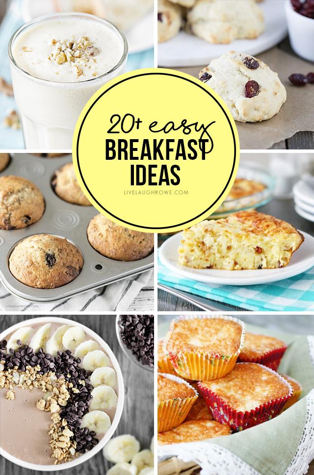 Easy Breakfast Recipes