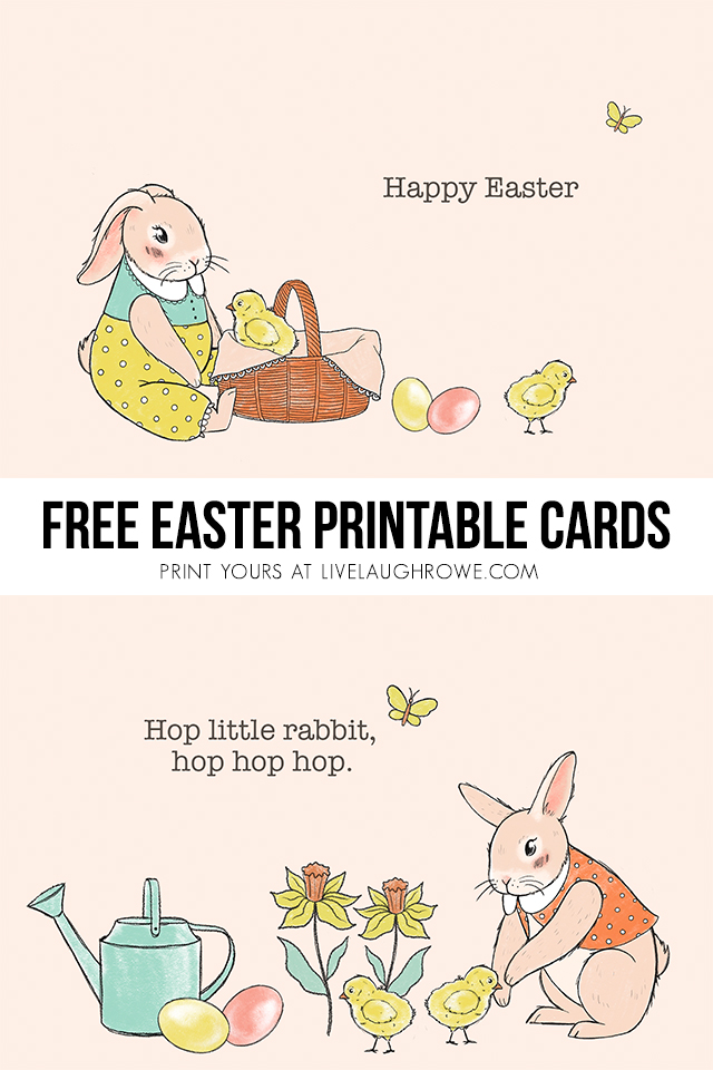 Collage of Easter Cards