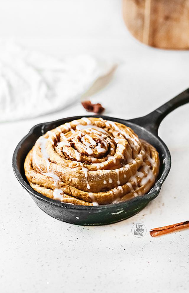 Skillet with Apple Cinnamon Cake