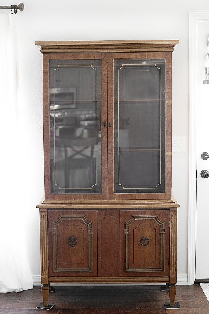 Winter Project. Hutch Makeover