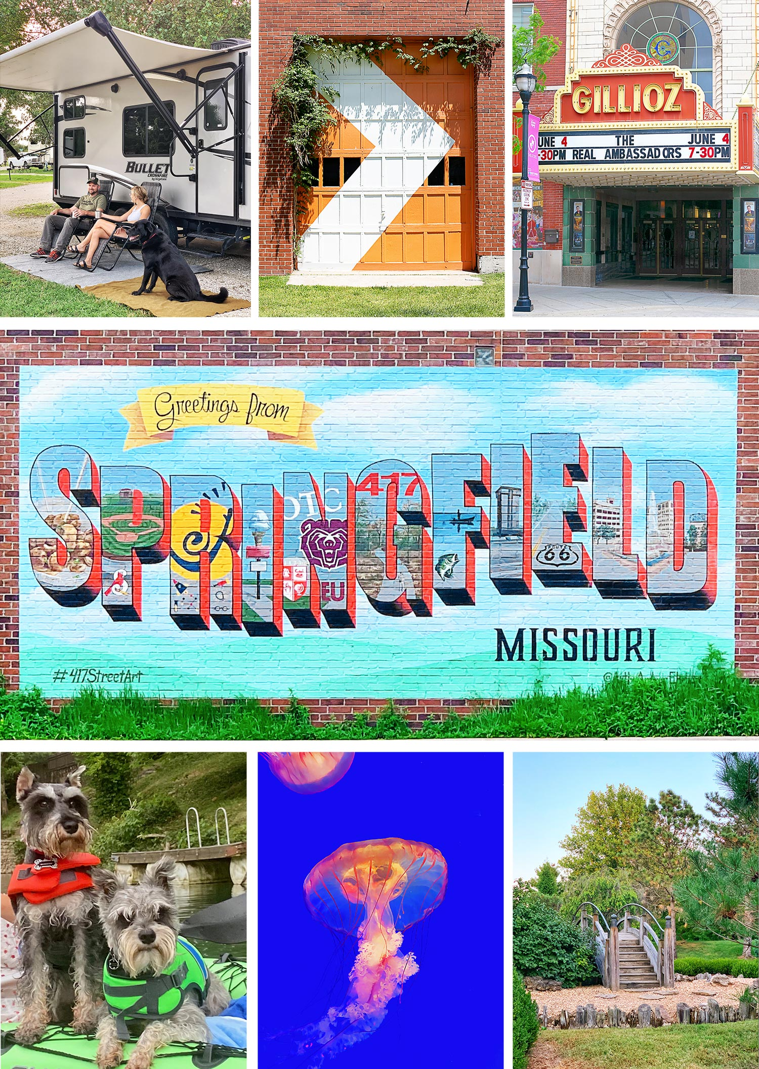 City Guide Collage for Springfield, MO