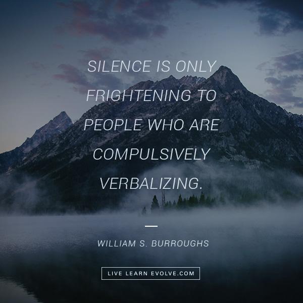 silence-frightening-william-burroughs