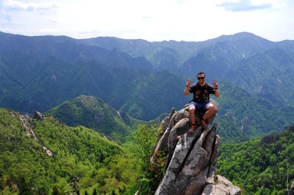 Jordan on Dinosaur Ridge