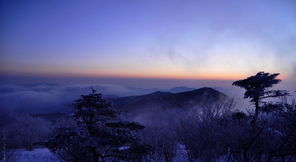 Sunrise from Taebaeksan!