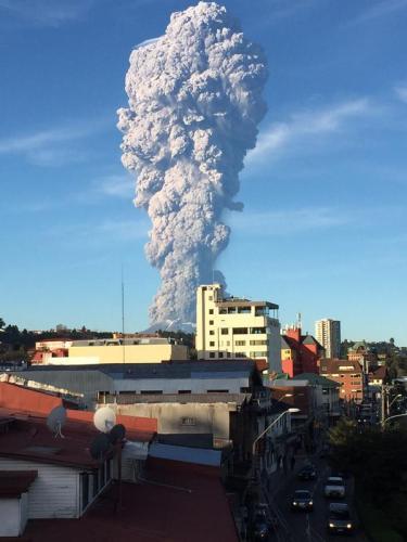 Calbuco Volcano April 2015
