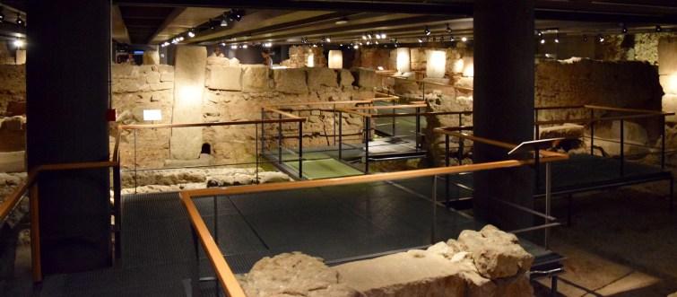 Roman ruins Barcelona