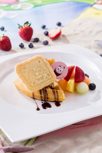 Ocean Park Summer Splash 2016 - Fresh Fruit Waffle with Häagen-Dazs™ Ice-Cream