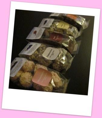 Individual truffle packs