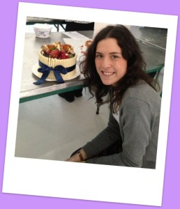 My finished cake - so proud!