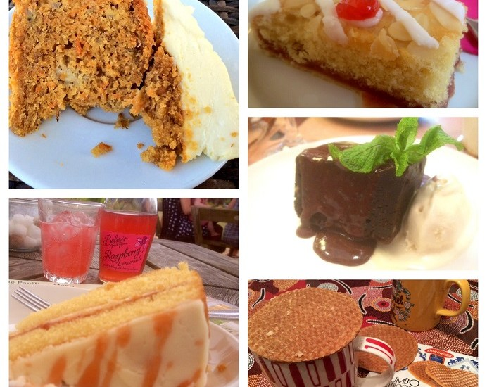 Banana & carrot cake, Gili Islands, Indonesia, Stansted Tearooms, Stansted Park, Stansted House, The Pavilion, rhubarb & elderflower sponge cake, rhubarb & elderflower, Belvoir raspberry lemonade, chocolate & pecan brownie, Restaurant 69, FB Pocket Orchestra, Palmerston Road, Southsea, Portsmouth, Horndean, Blendworth Fabrics, bakwell tart, Jumbo Stroopwafel, Stroopwafel, Daelmans caramel stroopwafel, Compton Tearooms, West Sussex,