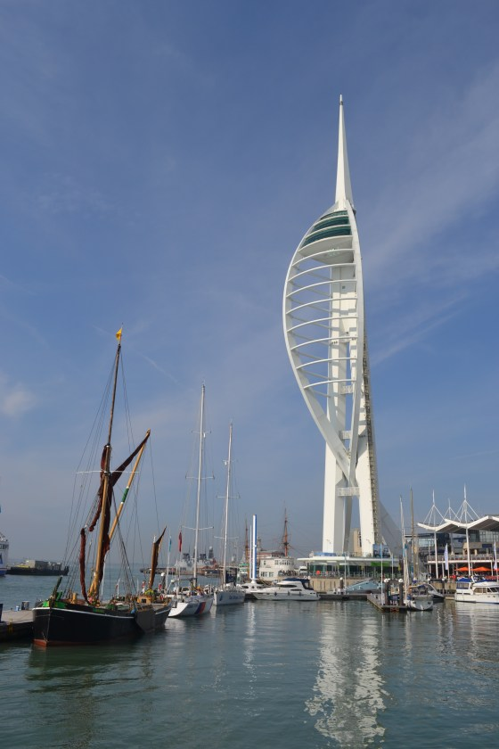 Spinnaker Tower, Gunwharf Quays, Portsmouth
