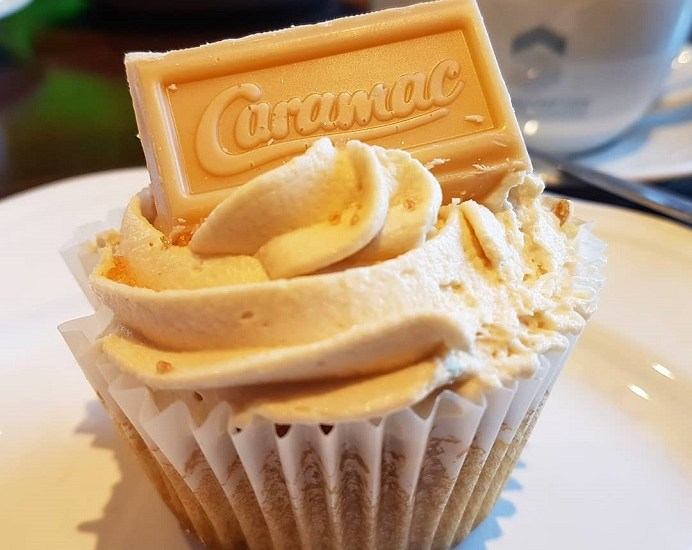 Caramac, caramac cupcake, caramac cake, southwick, southwick village store and tearoom, southwick tearooms, foodblogger, foodbog, foodie, hampshire foodblog, dday