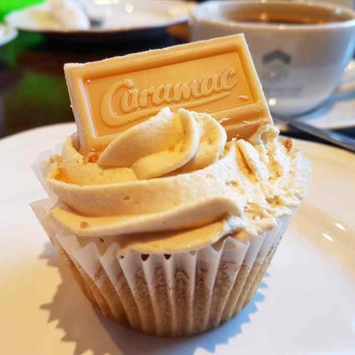 Caramac, caramac cupcake, caramac cake, southwick, southwick village store and tearoom, southwick tearooms, foodblogger, foodbog, foodie, hampshire foodblog, dday