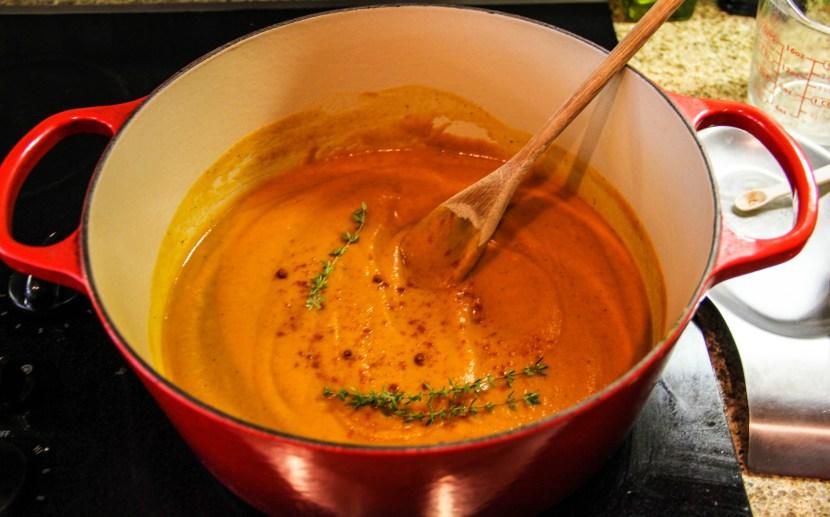 carrot soup-4