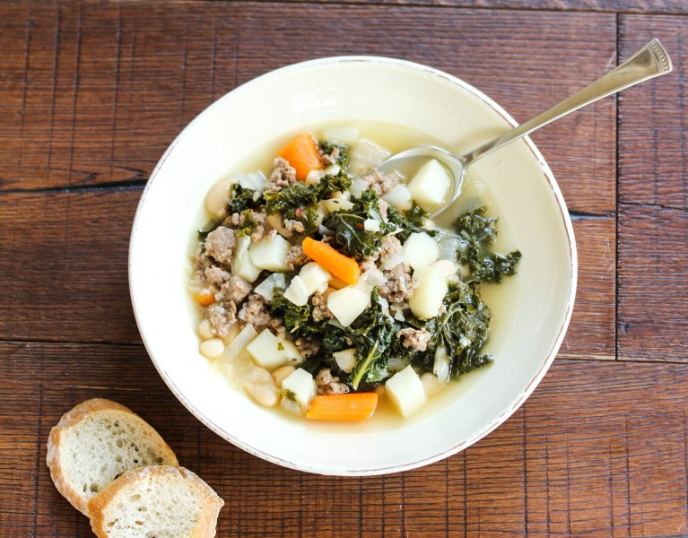 Sausage and Kale Soup Bowl
