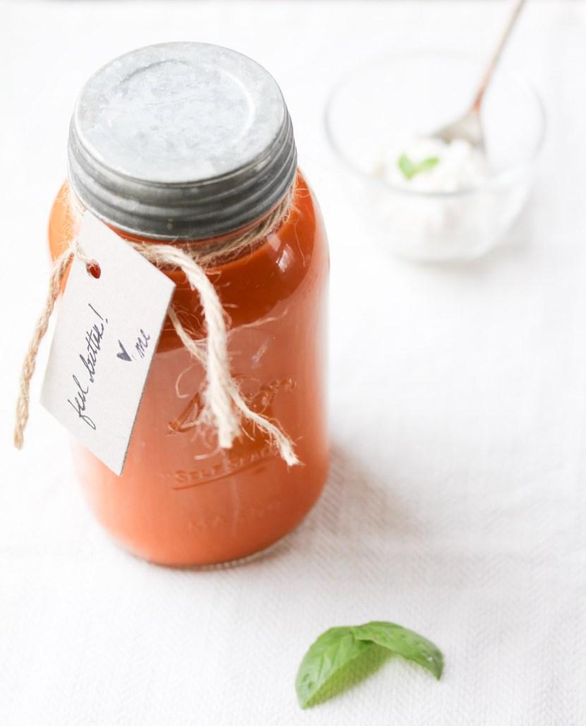 tomato soup jar
