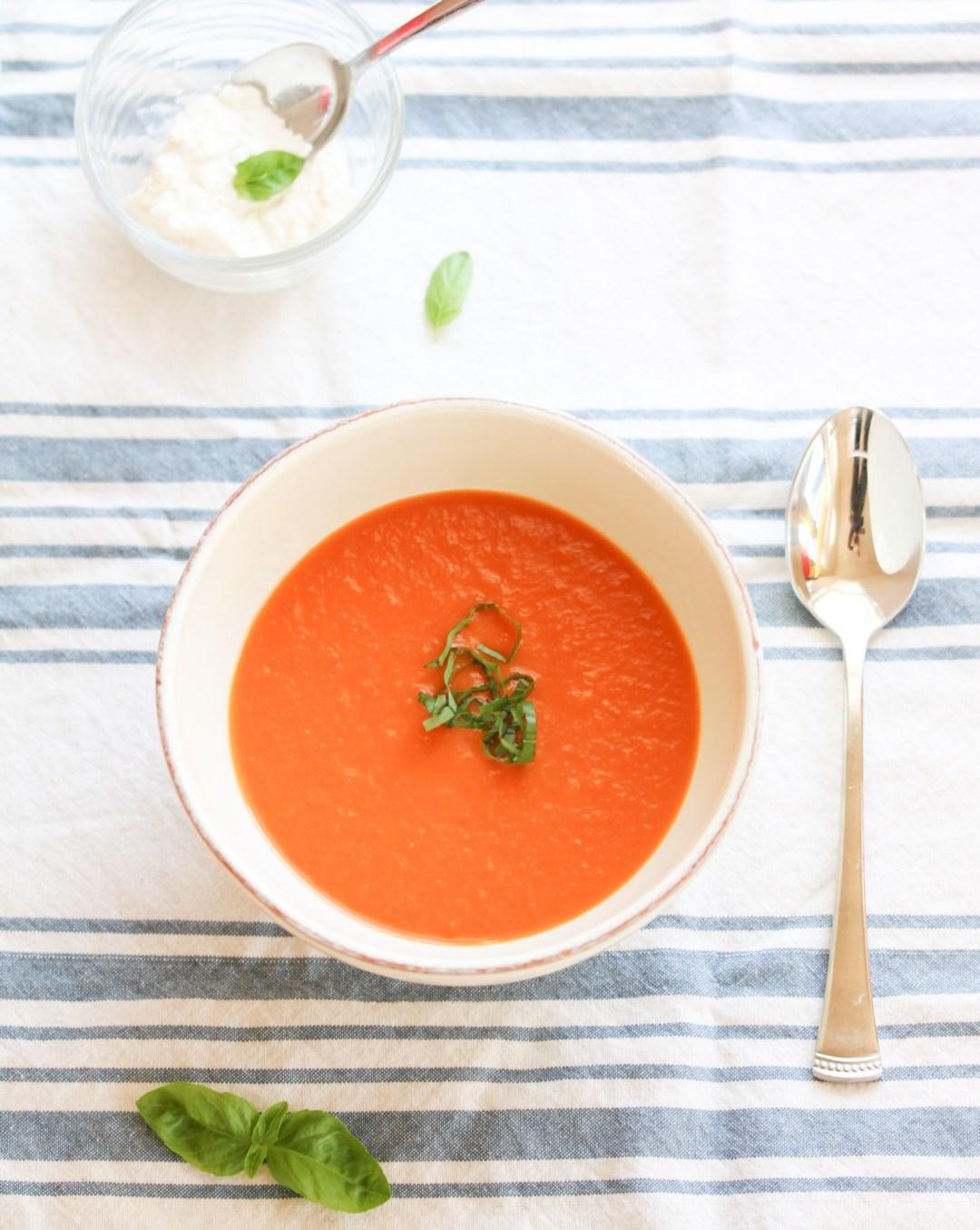 100 calorie tomato soup
